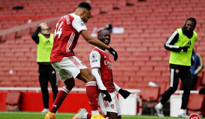 21 Kontribusi Gol, Nicolas Pepe Mulai Buktikan Duit 1,4 Trilyun Arsenal Nggak Sia-Sia