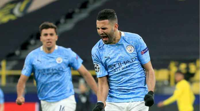 Riyad Mahrez Pahlawan Man City, Nihil Gol 5 Laga Liga Champions Pertama, Mengamuk 4 Laga Terkini