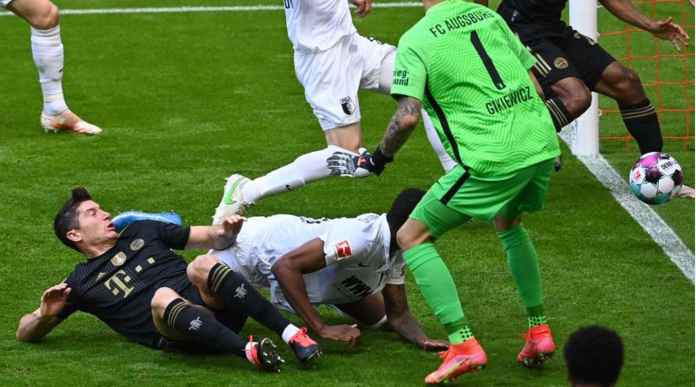 Hasil Liga Jerman: Akhirnya Robert Lewandowski Lampaui Rekor Gol Gerd Mueller!