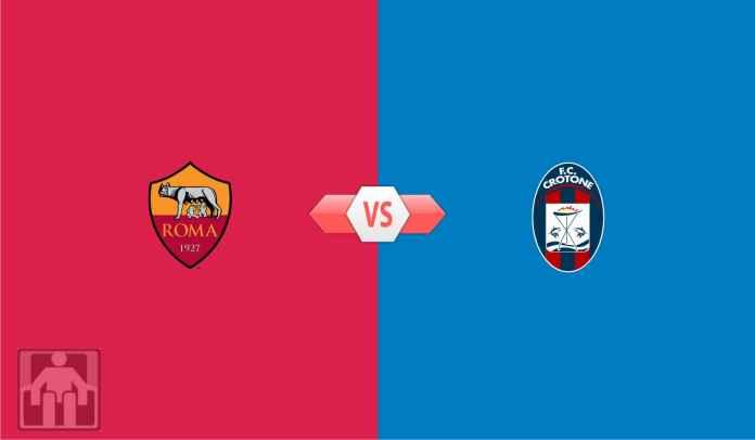 Prediksi AS Roma vs Crotone, Lawan Tim Juru Kunci, Momen Terbaik Untuk Bangkit