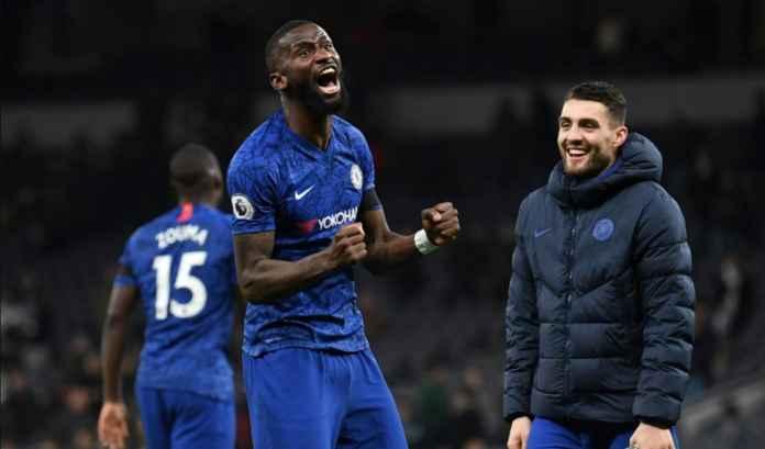 Chelsea Buka Negoisasi Kontrak Baru Antonio Rudiger Pasca Euro 2020 Berakhir