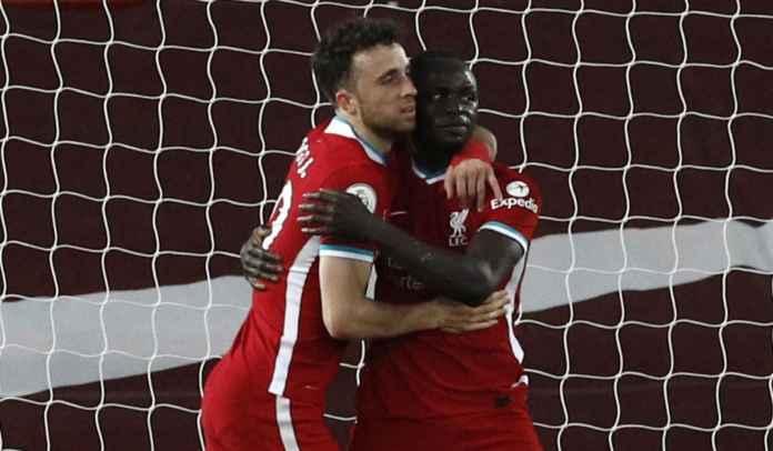 Sundulan Sadio Mane Bawa Liverpool Ungguli Southampton di Babak Pertama