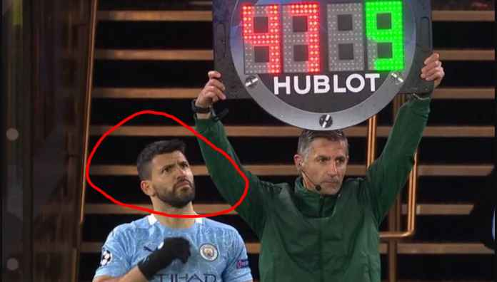 Adegan Paling Kocak Man City vs PSG Tadi Malam Terjadi Pada Menit 85, Lihat Wajah Aguero