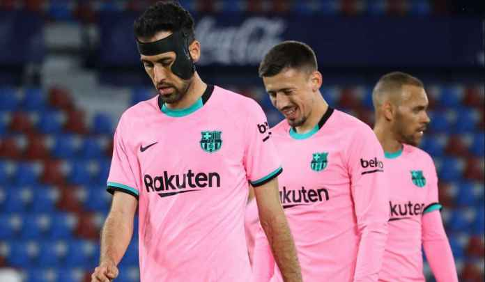 Ditahan Imbang Levante, Sergio Busquets Sebut Asa Gelar Barcelona Hampir Berakhir
