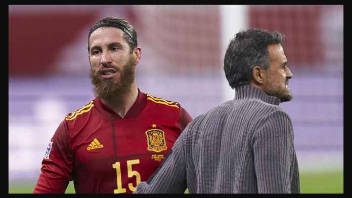 Biar Kapten, Sergio Ramos Dicoret Dari Timnas Spanyol, Tak Ada Wakil Real Madrid