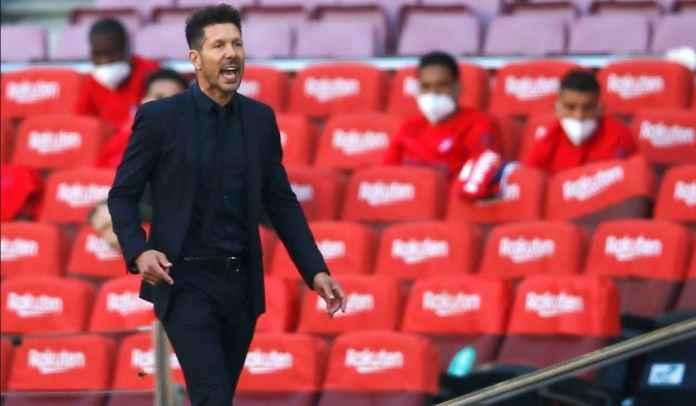 Atletico Madrid Ditahan Barcelona, Diego Simeone : Saya Ogah Tonton Real Madrid