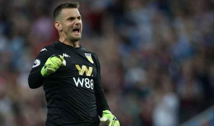 Penjaga Gawang Aston Villa Setuju Gabung Man Utd Meski Cuma Jadi Kiper Pilihan Ketiga