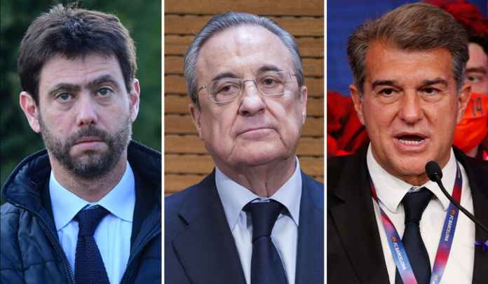 UEFA Proses Pelanggaran Disipliner Madrid, Barcelona & Juventus, Dilarang ke Liga Champions?