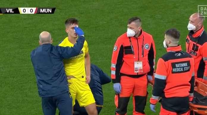 Adegan Berdarah Warnai Babak Pertama Villarreal vs Manchester United