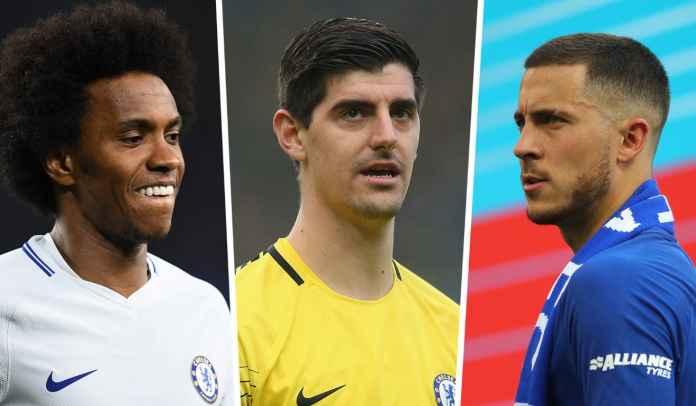 Hai Willian, Hazard, Courtois! Nggak Nyesel Sekarang Udah Ninggalin Chelsea?