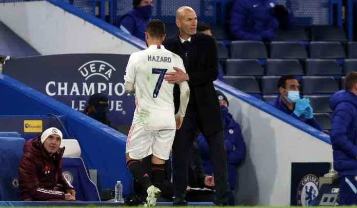 Liga Champions : Zinedine Zidane Jelaskan Alasan Nekat Mainkan Eden Hazard