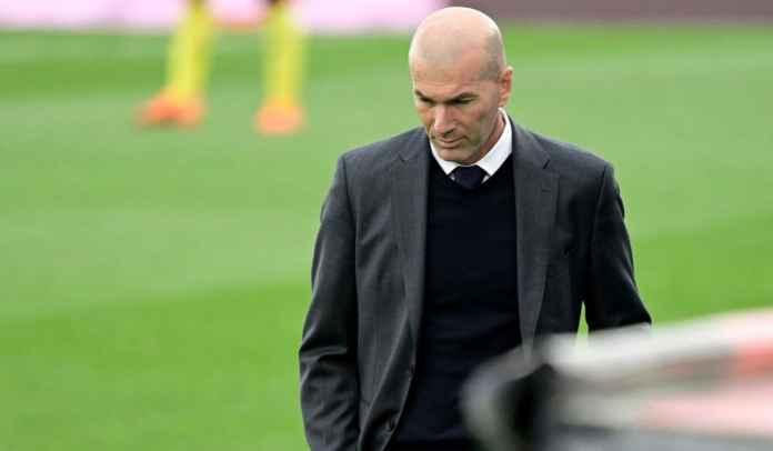 Zinedine Zidane Merasa Hancur Usai Real Madrid Gagal Pertahankan Gelar La Liga