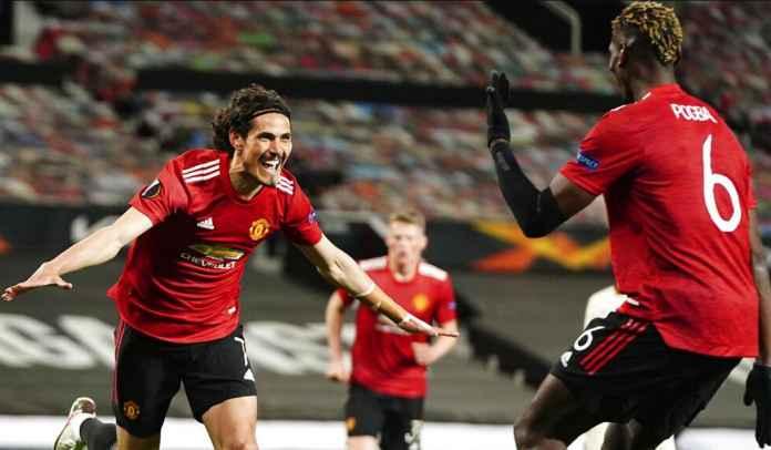 Batal Pergi, Edinson Cavani Bakal Bertahan di Manchester United Semusim Lagi