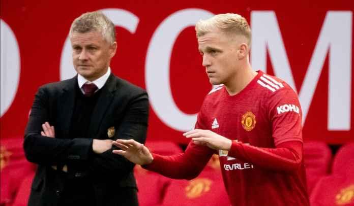 Jarang Dimainkan, Donny van de Beek Tetap Tidak Akan Dijual Manchester United