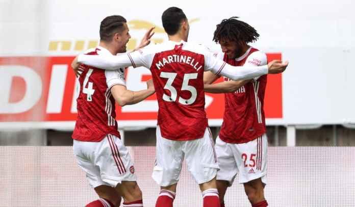 Baru Lima Menit, Gelandang Mesir Buangan Unai Emery Bawa Arsenal Ungguli Newcastle