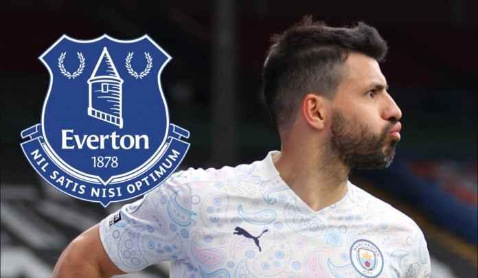 Everton Juga Minati Sergio Aguero, Tapi Keberatan Bayar Gajinya 4,8 Milyar Per Pekan