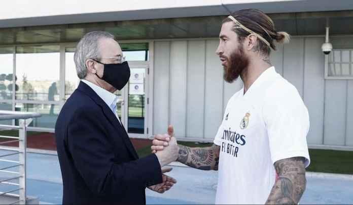 Sama-Sama Keras Kepala Soal Durasi Kontrak, Ramos & Madrid Ditakdirkan Berpisah?