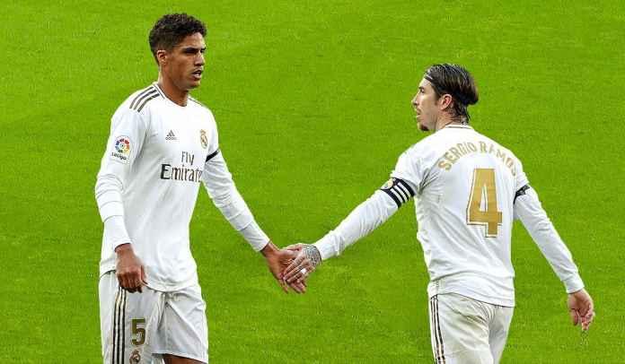 Jelang Chelsea vs Real Madrid : Zidane Harap Duet Bek Tengah Varane & Ramos Fit