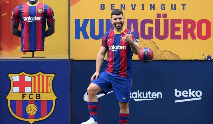 Pep Guardiola Sebut Ronald Koeman Beruntung Dapatkan Sergio Aguero