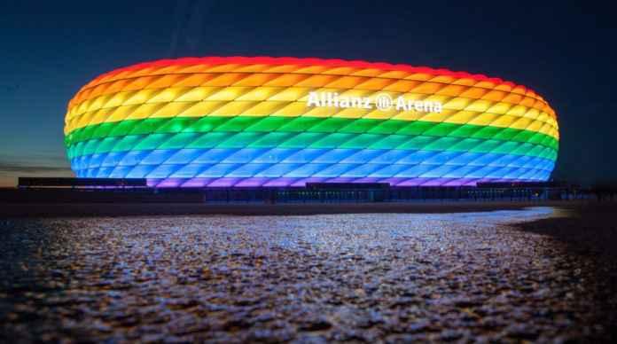 Lampu Stadion Warna Pelangi LGBT Jadi Perdebatan Panas Jelang Jerman vs Hungaria Nanti Malam