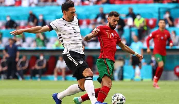 Cuma Jalan-Jalan Doang Saat Portugal Dibantai Jerman, Bruno Fernandes Dikecam