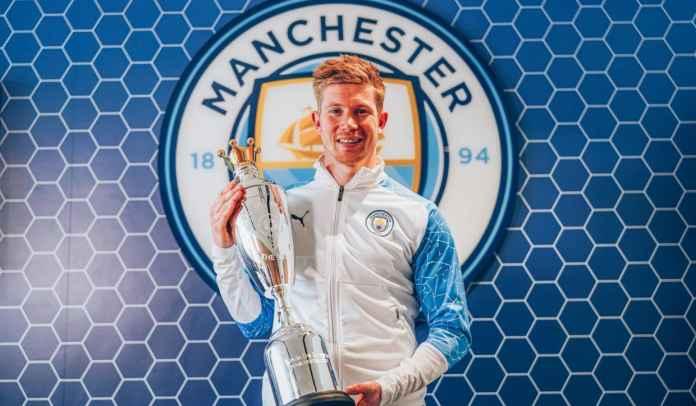 Menangi PFA Player of the Year, De Bruyne Samai Rekor Ronaldo & Henry
