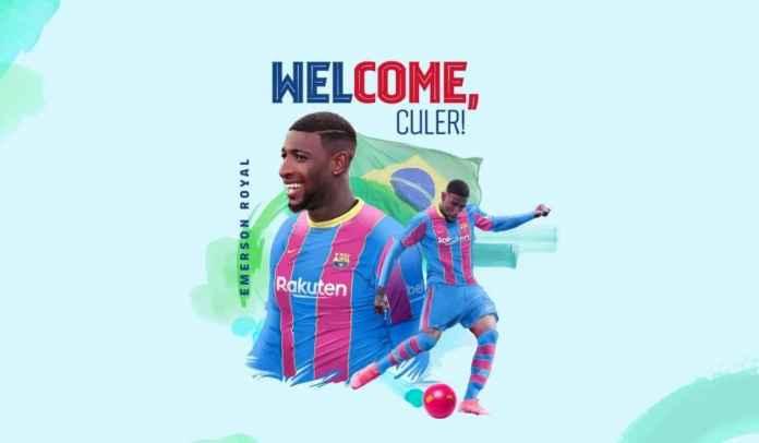 RESMI! Barcelona Umumkan Transfer Emerson Royal, Tiga Hari Tiga Pemain Baru!
