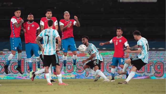 Hasil Argentina vs Chile di Copa America 2021: Mimpi Buruk Berlanjut! Gol Messi Gagal Bawa Albiceleste Menang