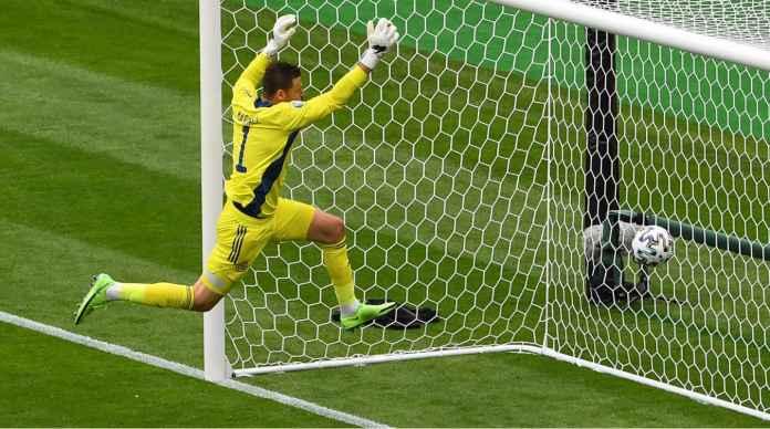 Lihat Gol Ajaib Patrik Schick ke Gawang Skotlandia Tadi Malam, Mungkin Jadi Gol Terbaik Euro 2020
