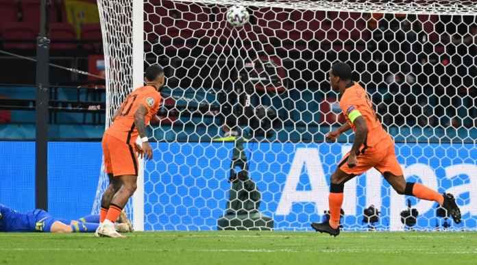 Hasil Belanda vs Ukraina di EURO 2020: Memphis dan Wijnaldum Kesetanan, Tapi Pasukan Shevchenko Sempat Bangkit