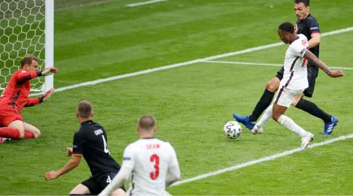 Proses Terjadinya Gol Inggris ke Gawang Jerman, Diawali Gerakan Sterling dan Kembali ke Sterling