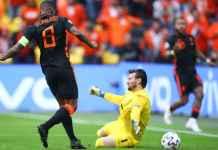 Hasil Makedonia Utara vs Belanda di EURO 2020: Wijnaldum Bikin Ngiler Barca, Cetak 2 Dari 3 Gol Oranje