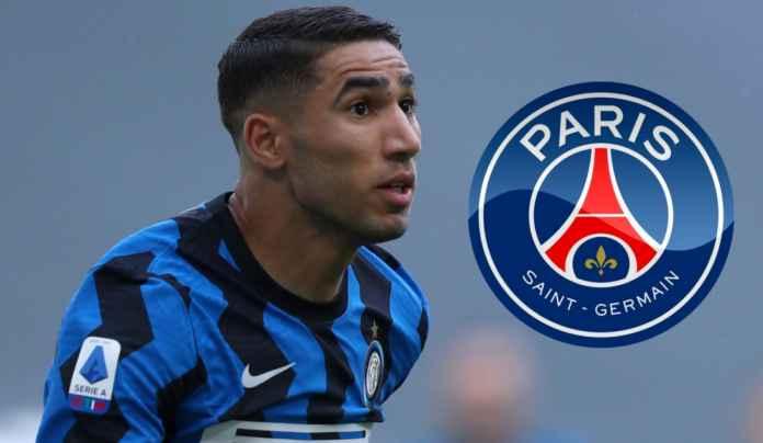 Achraf Hakimi Diminati Paris Saint-Germain, Inter Milan Pasang Harga 1,4 Trilyun