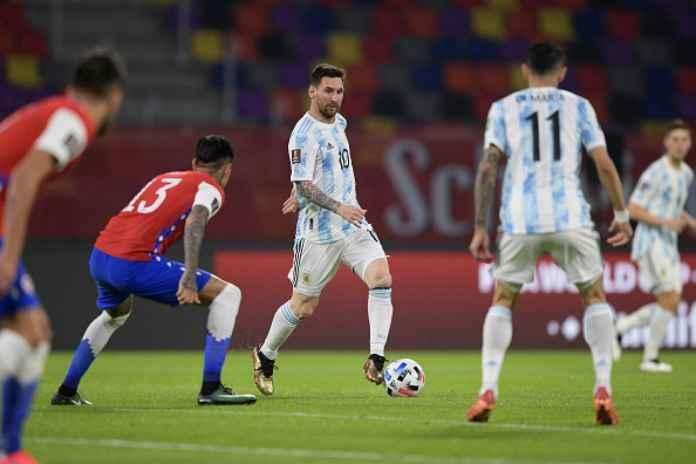 Hasil Argentina vs Chile, Messi Cetak Gol Tapi Gagal Bawa La Albiceleste Menang