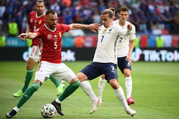 Hasil Hungaria vs Perancis di EURO 2020: Les Blues Nyaris Kalah, Untung Ada Griezmann!