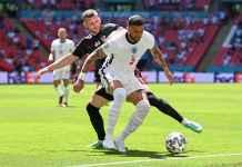 Hasil Inggris vs Kroasia Euro 2020, Tiga Singa Menang Berkat Gol Raheem Sterling