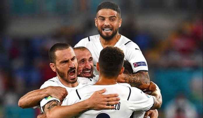 Insigne Ungkap Kunci Kemenangan Italia Usai Sempat Tak Diberi Penalti Wasit