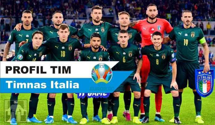 Profil Timnas Italia : Skuad Lengkap, Manajer, Taktik, Jadwal, & Prediksi di Euro 2020