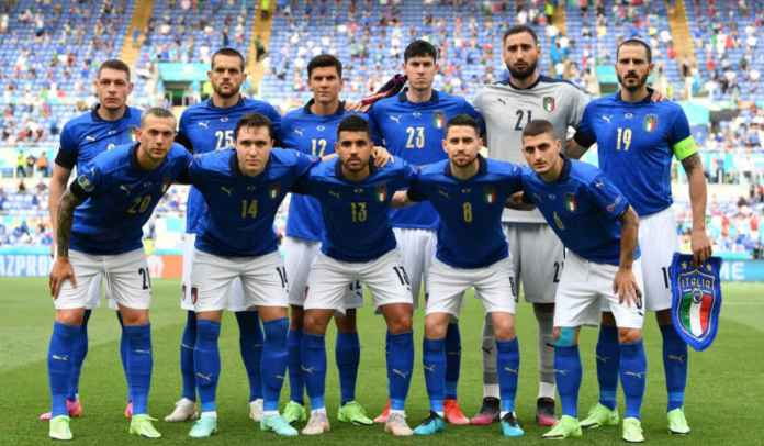 Delapan Perubahan Starting XI Saat Lawan Wales Jadi Rekor Tersendiri Bagi Italia