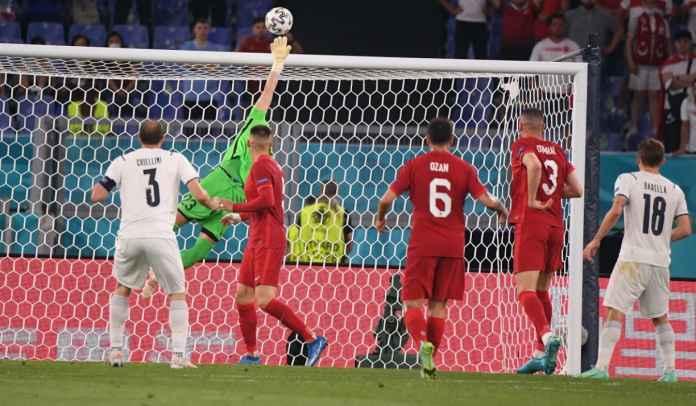 Tembakan Babak Pertama Italia 14-0 Turki, Margin Terbesar di Euro Sejak 2004