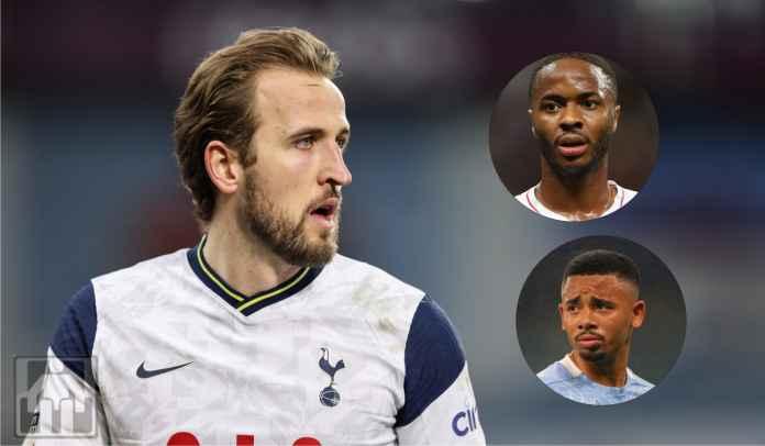 Man City Tawarkan Gabriel Jesus & Raheem Sterling ke Spurs Demi Harry Kane