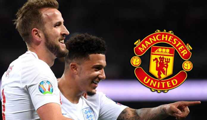 Man Utd Prioritaskan Transfer Sancho Ketimbang Kane, Karena Nunggu Haaland
