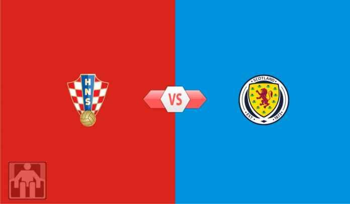 Prediksi Kroasia vs Skotlandia, Fase Grup D Euro 2020, Rabu 23 Juni 2021