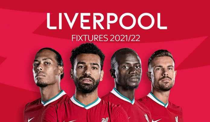 Jadwal Premier League 2021/2022 Liverpool : The Reds Diuntungkan Jadwal Mudah