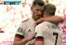 Hasil pertandingan antara Denmark vs Belgia di EURO 2020