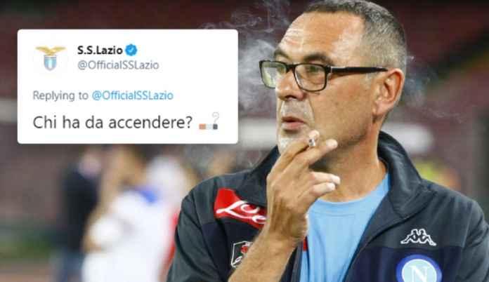 Lazio Perkenalkan Maurizio Sarri Sebagai Pelatih Baru dengan Cara Sarkasme