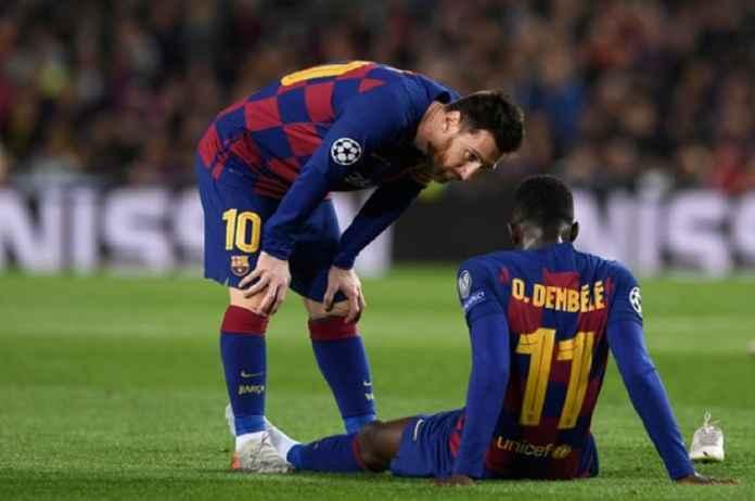 Barcelona Tanpa Ousmane Dembele di Awal Musim Usai Cedera untuk Ke-12 Kalinya