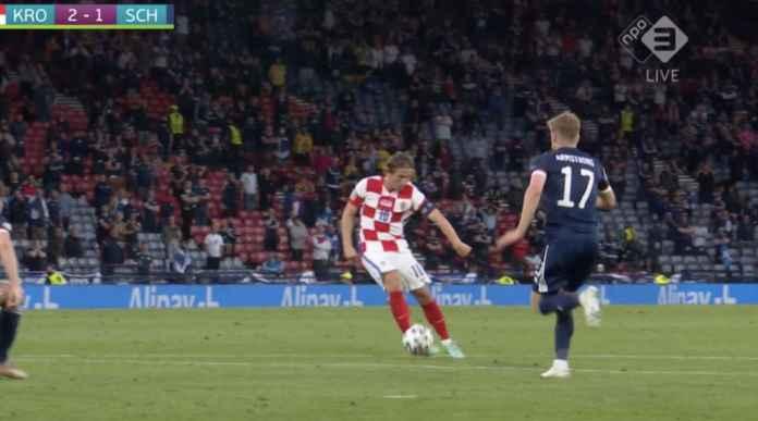 Lihat Gol Luka Modric, Pencetak Gol Termuda Sekaligus Teruzur Kroasia di Turnamen Euro