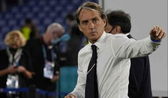Tak Mau Sombong Usai Bungkam Turki, Roberto Mancini : Perjalanan Masih Panjang