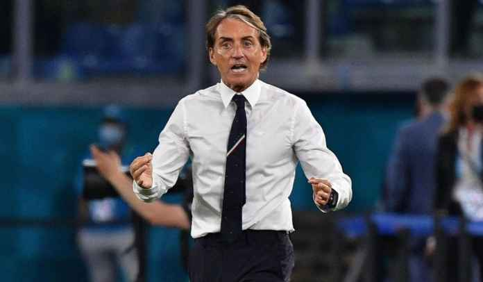 Roberto Mancini Sebut Laga Lawan Austria Lebih Sulit Ketimbang Laga Perempat Final